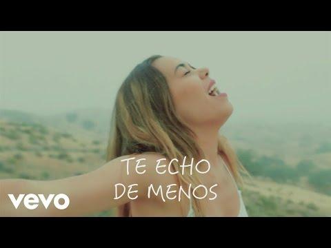 Beatriz Luengo - Te Echo de Menos (Official Lyric Video)