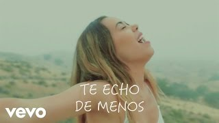 Beatriz Luengo - Te Echo de Menos (Official Lyric Video)
