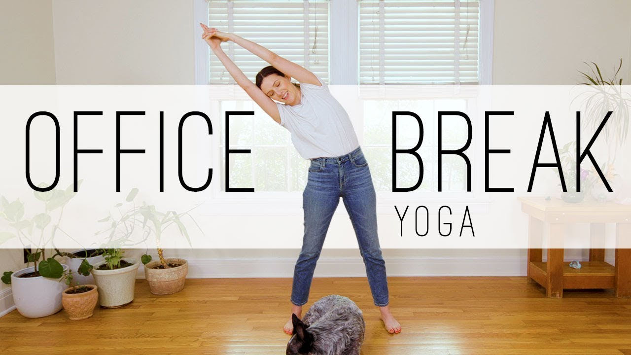 Office Break Yoga | 14 Min. Yoga Practice