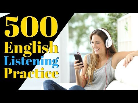 500 English Listening Practice Learn English Useful Conversation ...