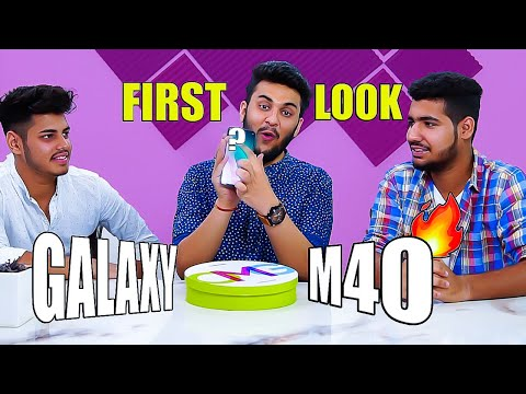 Showing SAMSUNG GALAXY M40 To My Subscribers *Shocking Reaction*