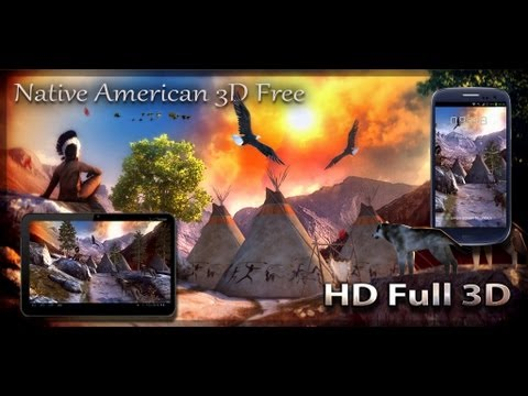 Video of Native American 3D Free