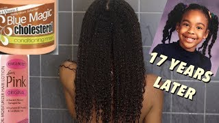 Wash and GO using Products I used as a Kid | Natural Hair