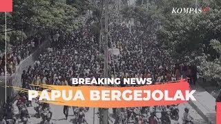 VIDEO Live Streaming Kompas TV Kerusuhan di Manokwari, Kondisi Terkini Aparat Bentrok dengan Massa