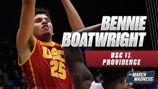 USC's Boatwright scores 24, leads Trojans to First Four win