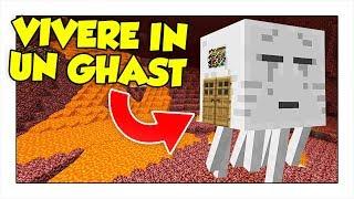 COME VIVERE DENTRO UN GHAST! - Minecraft ITA