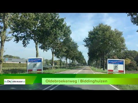 Provincie Flevoland geeft informatie over werkzaamheden aan de Oldebroekerweg