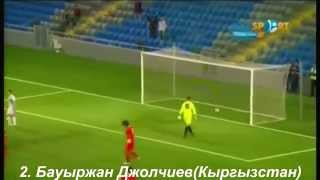 Топ-10 голов сборной Казахстана 2014 / Қазақстан құрамасының 10 үздік голы 2014
