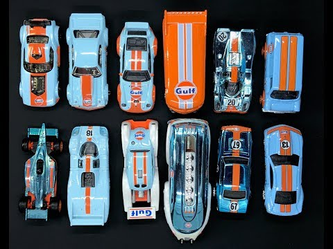 Lamley Saturday Showcase: Hot Wheels Gulf Racing Models