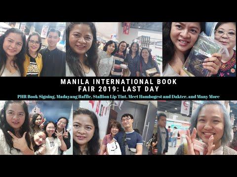 Manila International Book Fair 3: PHR Book Signing,  Halik ng Stallion Boys, Meet Hambogest & Dakter