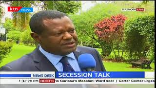 A section of Ukambani leaders oppose the call to secession