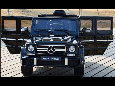 Kinderauto der Neue Mercedes G63 von AMG mit USB/SD-Karten Stoßfänger 2,4Ghz RC technologie