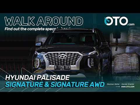 Walk Around | Hyundai Palisade Signature & Signature AWD