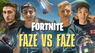 FAZE vs FAZE on Fortnite! - Pro Playground 1v1