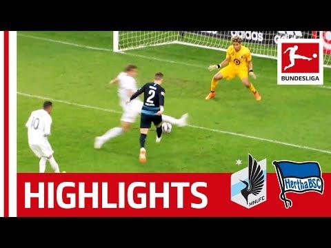 10-Men Hertha Seal the Deal - Minnesota United FC vs. Hertha Berlin | Highlights |