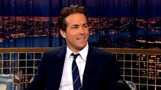 "Ryan Reynolds' Sense Of Humor Didn't Translate In Germany – ""Late Night With Conan O'Brien"""