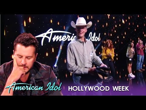 Luke Bryan Gives This Poor Cowboy His Boots After MOVING Performance | American Idol 2019
