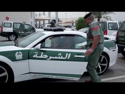 Cảnh sát Dubai dùng siêu xe Camaro SS