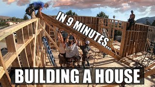 Building A House In 9 Minutes: A Construction Time-Lapse