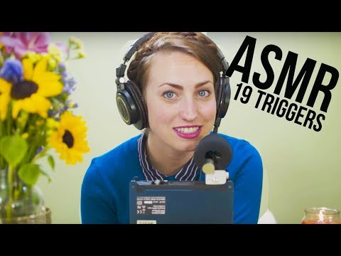19 ASMR Triggers | CHRIS & BRITTANY