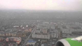 preview picture of video '[HD] A319 S7 Airlines Landing UNOO Omsk Tsentralny RNW 25'