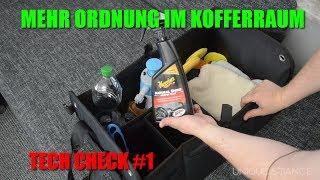 Mehr Ordnung im Kofferraum - Tech Tipp #1