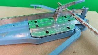 Sigma Fliesenschneider Test 3D2K Klick Klock