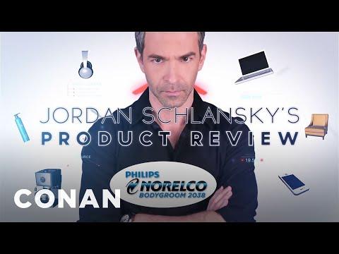 Jordan recenzuje holicí strojek - CONAN