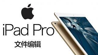 《值不值得买》第37期:iPad Pro与文件编辑 - dooclip.me