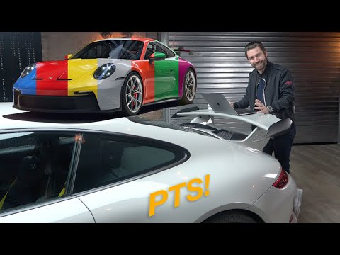 Build Slot! NEW PTS Porsche 992 GT3 Spec Lock!