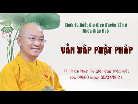 Vấn đáp Phật pháp (Phần 1) l XGGD lần 8