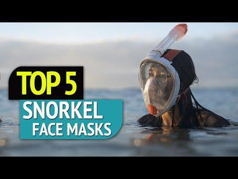 TOP 5: Snorkel Face Masks 2018