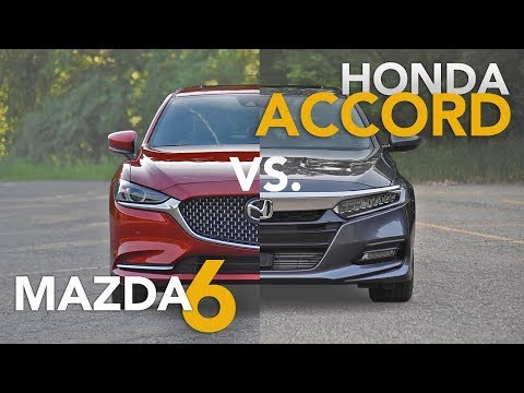 2019 Honda Accord vs. Mazda6 Comparison
