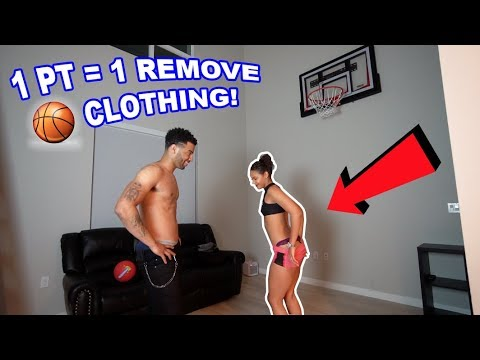 STRIP 1V1 BASKETBALL IN MY HOUSE! (1 POINT=1 REMOVE CLOTHING) | The Aqua Family Mp3