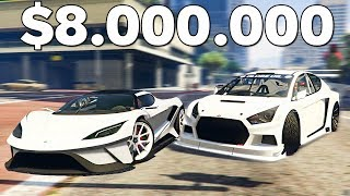 GTA ОНЛАЙН - САМЫЕ КРАСИВЫЕ СПОРТ КАРЫ ЗА $8.000.000!