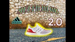 d1e7f3b73 miadidas Ultra Boost 4-0 Multicolor Unboxing - ฟรีวิดีโอออนไลน์ - ดู ...