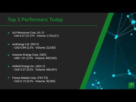 InvestorChannel's Uranium Watchlist Update for Thursday, J ... Thumbnail