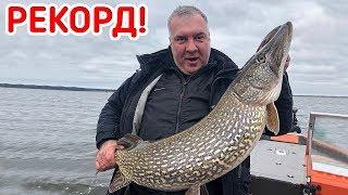 Ролик про рыбалку на щуку