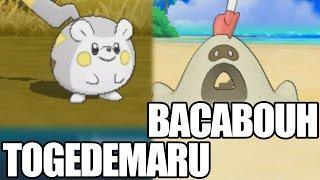 Togedemaru  - (Pokémon) - COMMENT TROUVER TOGEDEMARU ET BACABOUH ? l TUTO POKÉMON SOLEIL LUNE
