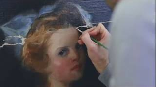 Restoration of a William Merrit Chase Painting - Narrated