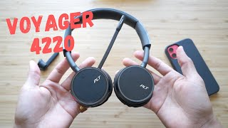 Plantronics Voyager 4220 UC Review: Worth it in 2021?