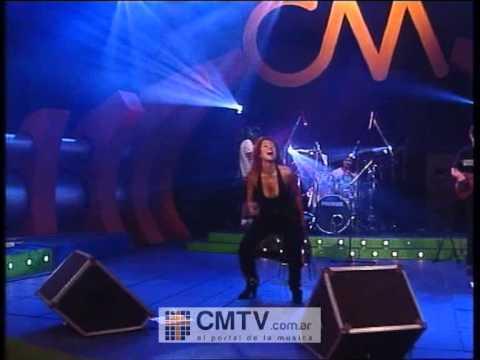 Patricia Sosa video Corazones en llamas - CM Vivo 2002
