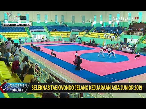 Seleksi Nasional Taekwondo Jelang Kejuaraan Asia Junior 2019