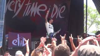 Everytime I Die - We'rewolf, Thirst & Floater - 2016 Warped Tour - PNC Bank, NJ - 07.17.16