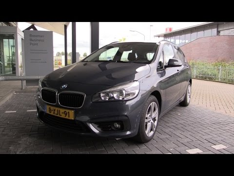 BMW 2 Series Active Tourer 2015 Start Up Drive In Depth Review Interior Exterior