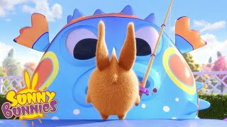 SUNNY BUNNIES - The Biggest Catch | Season 3 | Cartoons For Children