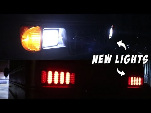 Adventure Bus Build Pt 9 - Custom Tail-Lights are Finished!