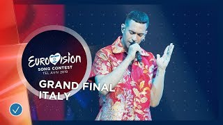 Italy   LIVE   Mahmood   Soldi   Grand Final   Eurovision 2019