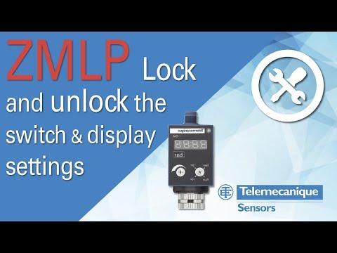 Telemecanique XMLZL003 Pressure Sensor Switch XML