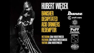 Interview with Hubert Wiecek from BANISHER and DECAPITATED